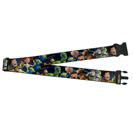 Toy Story Woody Buzz Bullseye Jessie Luggage Strap - Woody And Buzz And Jessie