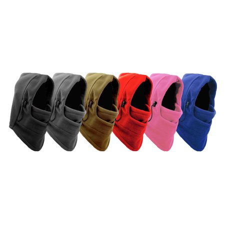 - IGIA X-Degree Heavyweight Thermal Micro Fleece Hood with Adjustable Drawstring, Army Green