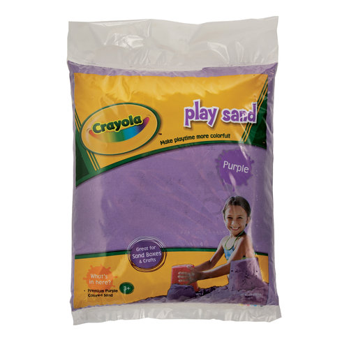 Crayola(R) Purple Play Sand 20 Pound Bag