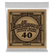 Ernie Ball 1840-U 0.040 Gauge Earthwood Phosphor Bronze Acoustic Guitar Single Strings
