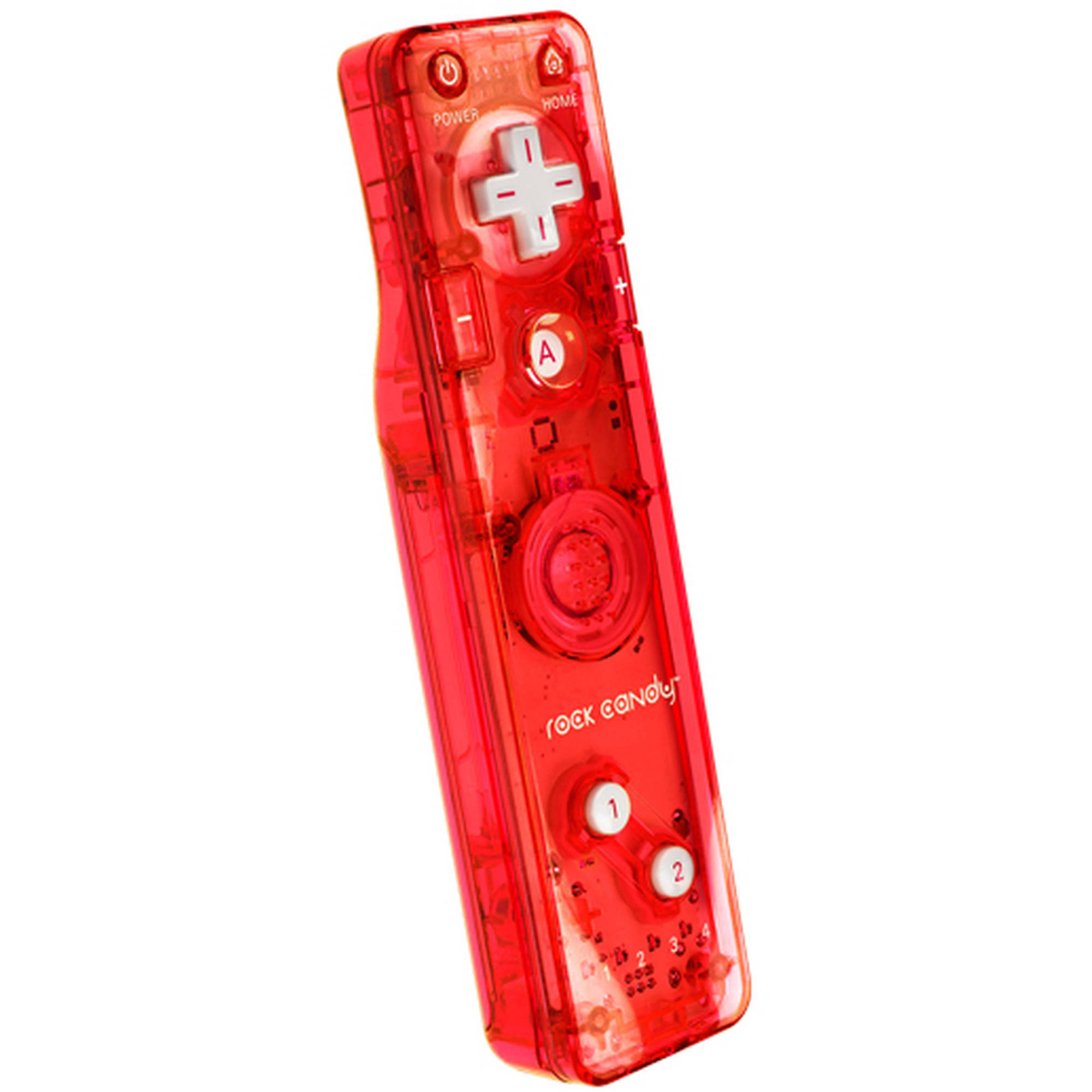 PDP Rock Candy Gesture Controller for Wii/Wii U, Stormin' Cherry