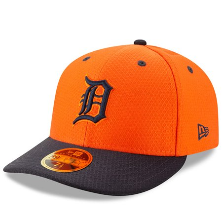 94dacf4d Detroit Tigers New Era 2019 Batting Practice Road Low Profile 59FIFTY  Fitted Hat - Orange/Navy - Walmart.com