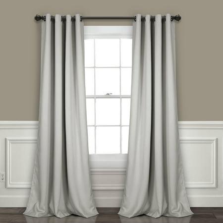 Lush Decor Insulated Grommet Blackout Curtain Panels