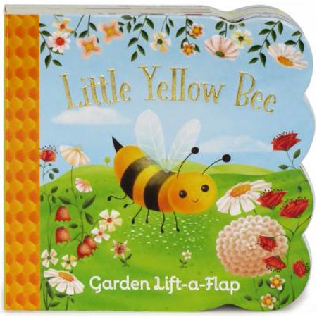 Little Yellow Bee: Chunky Lift a Flap Board Book (Board Book)