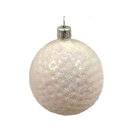 - Golf Ball Czech Glass Christmas Tree Ornament Sports Decoration Golfing