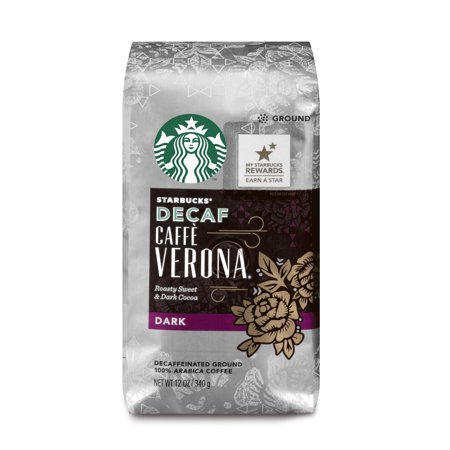 - Starbucks Decaf Ground Coffee, Verona, 12 Oz