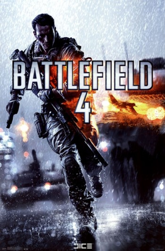 picture relating to Printable Video Game Covers identify Battlefield 4 - Match Include Poster Print