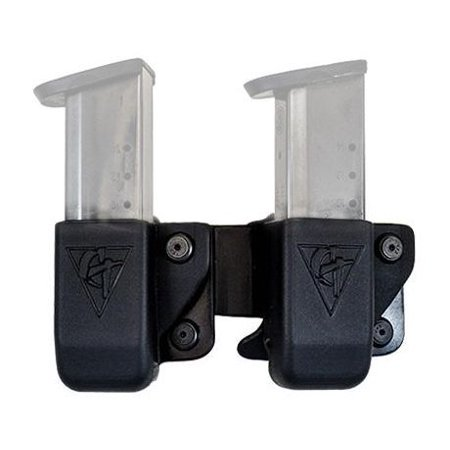 Glock 45 Gap (Comp-Tac Double Twin Mag Compatible with Glock 9/40/357, .45 Gap Kydex)
