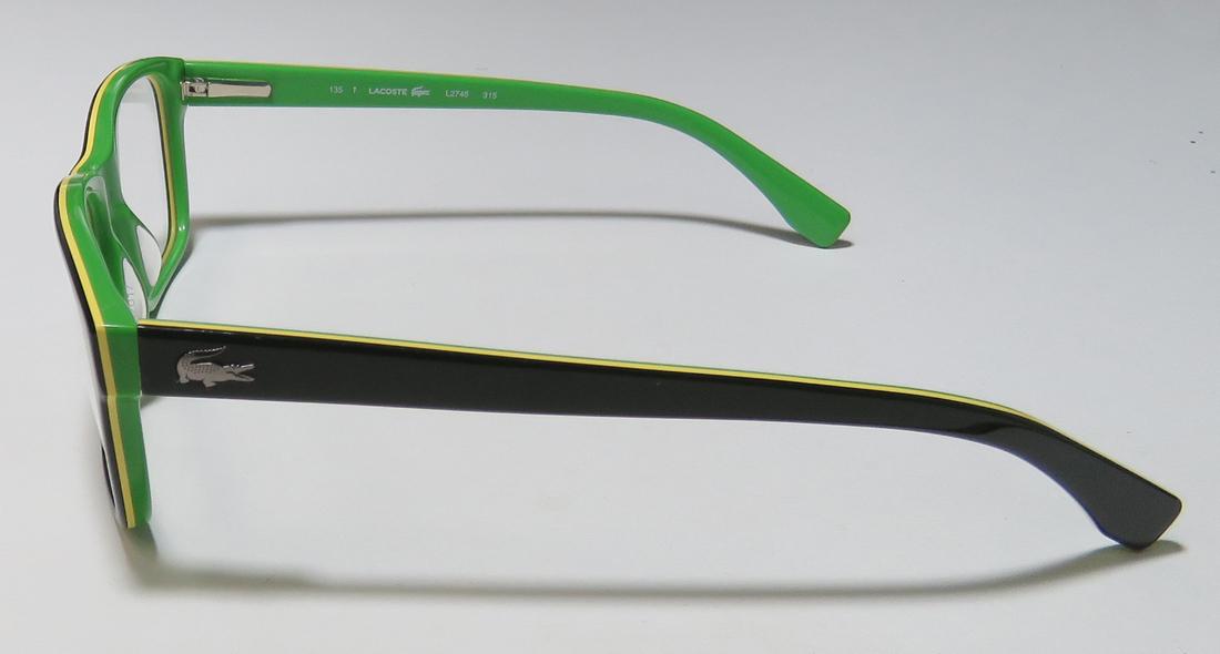 0d2f0c7ac4a New Lacoste 2746 Mens Womens Designer Full-Rim Tortoise   Brown Frame Demo  Lenses 54-17-140 Flexible Hinges Eyeglasses Glasses - Walmart.com