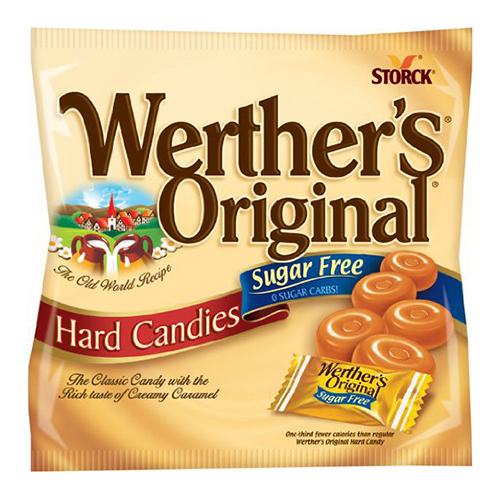Werther's Original Sugar Free Hard Candies, 2.75 oz