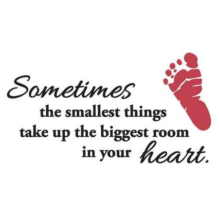 The Decal Guru Baby Heart Quote Wall Decal Walmartcom
