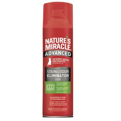 Nature's Miracle® Advanced Stain & Odor Eliminator Foam Cat 17.5