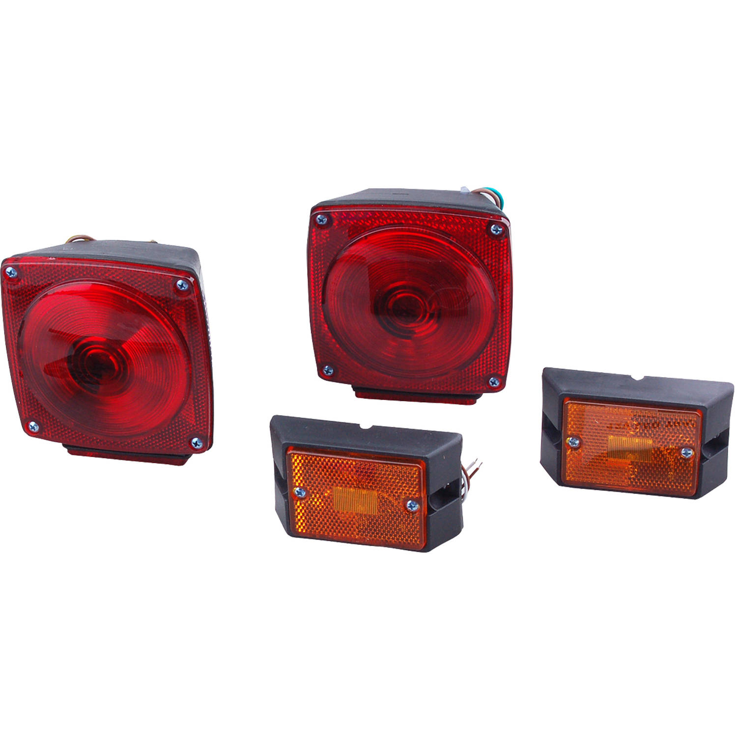 Max Load 12 Volt Deluxe Trailer Light Kit