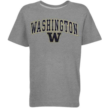 Washington Huskies Youth Arched University T-Shirt - (Washington State University Clothing)