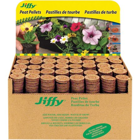 Jiffy/ferry Morse Seed Co-Jiffy-7 Plant Starter Pellets Display 1000 Count