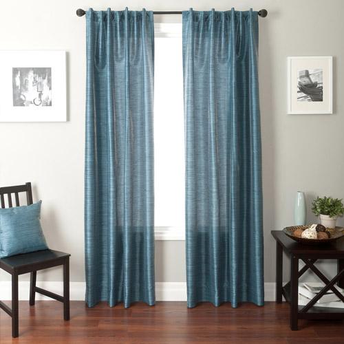 Softline Bergamo Back Tab and Rod Pocket Curtain Panel