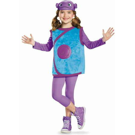 DreamWorks Home Oh Deluxe Child Halloween Costume - Oh Deer Halloween Costume