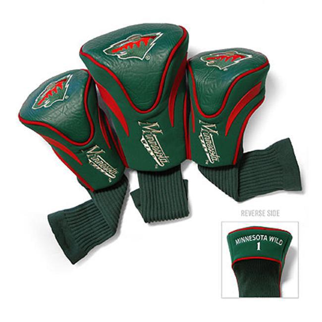 Team Golf 14394 Minnesota Wild 3 Contour Sock Headcovers
