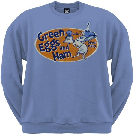 Dr. Seuss - Eggstra Special Light Blue Crew Neck Sweatshirt
