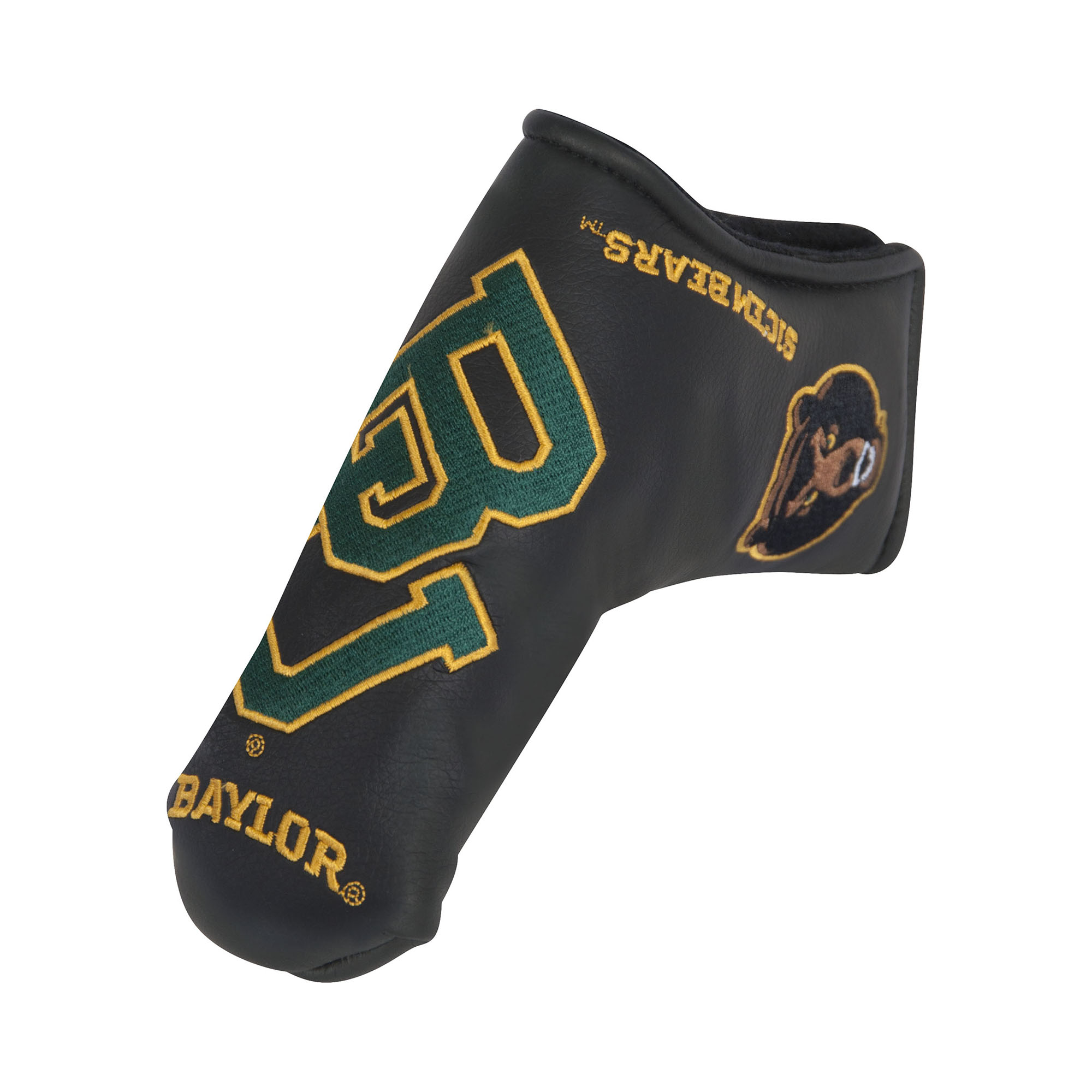 Team Effort Baylor Bears Black Blade Golf Putter Cover