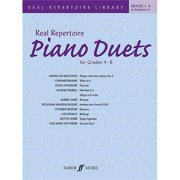 Alfred 12-0571531407 Real Repertoire Piano Duets for Grades 4-6 - Music Book