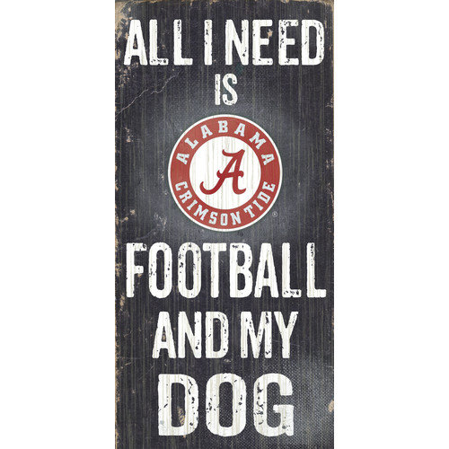 Fan Creations NCAA Football and My Dog Graphic Art Plaque