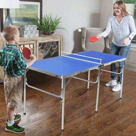 60'' Portable Table Tennis Ping Pong Folding Table w/Accessories Indoor Game - image 2 of 10