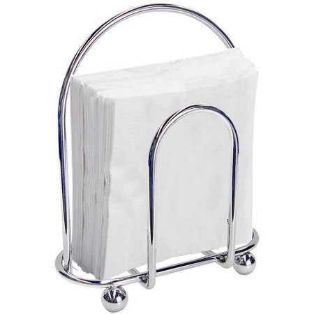 Home Basics Home Basics Napkin Holder, Chrome