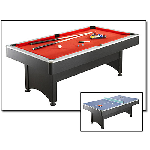 Hathaway Maverick 7' Pool Table with Table Tennis