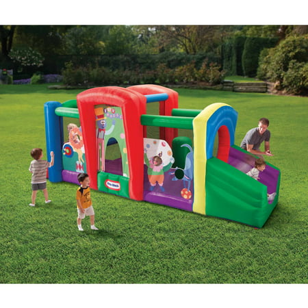 Little tikes state fair fun house bouncer for Little tikes outdoor playset