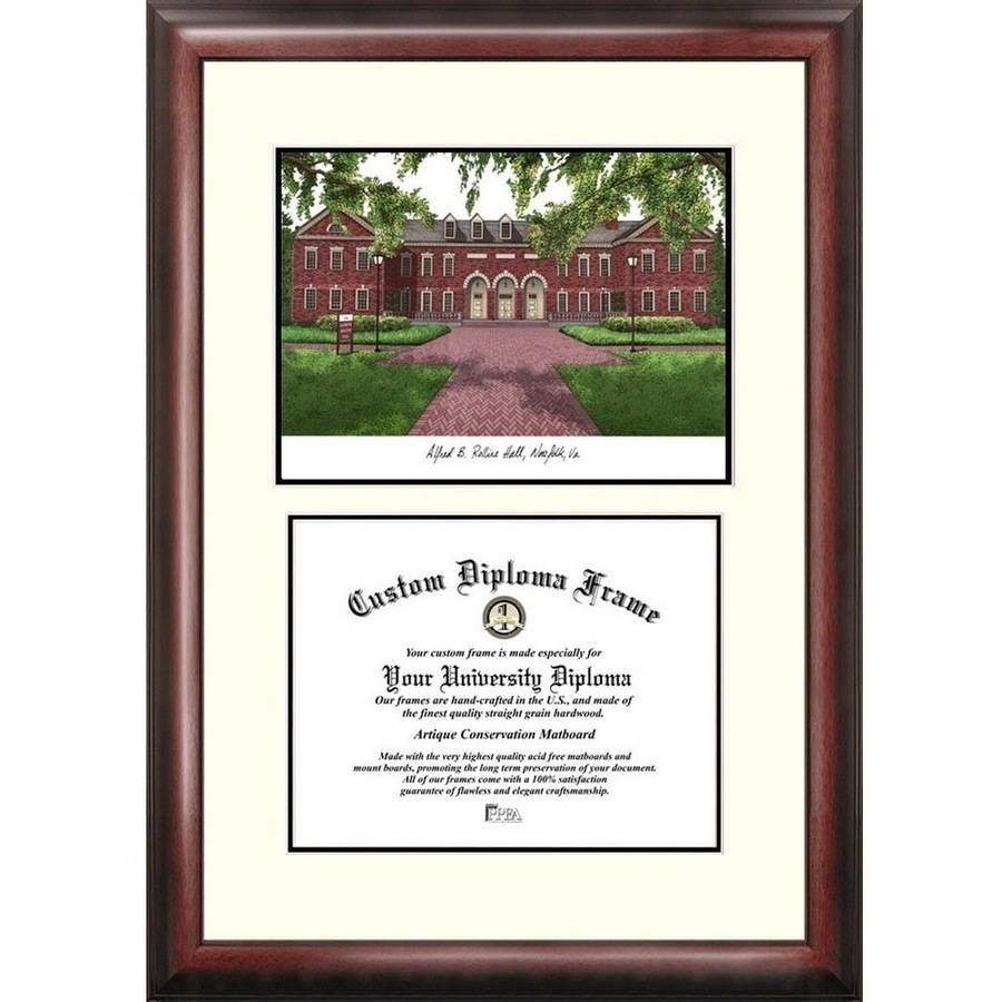 "Old Dominion 11"" x 14"" Scholar Diploma Frame"