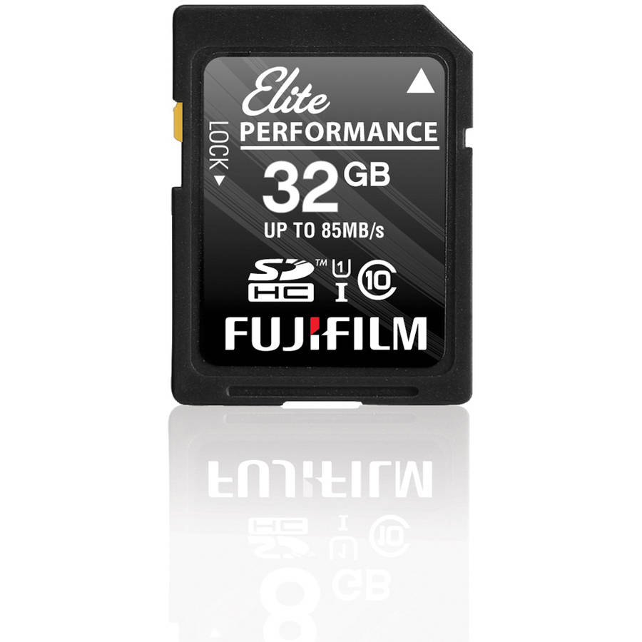 Fujifilm Elite Performance UHS-1 SDHC 32GB Memory Card