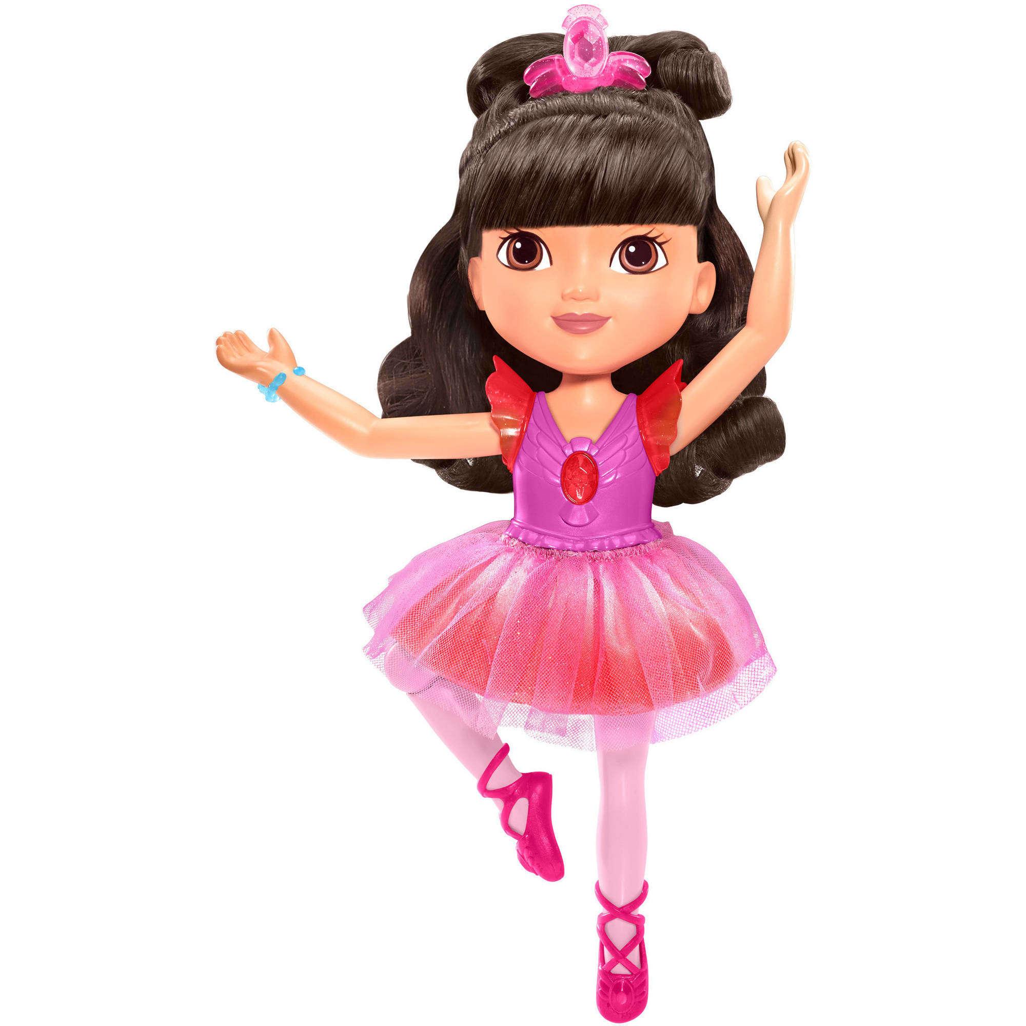 Nickelodeon Dora and Friends Sparkle & Spin Ballerina Dora