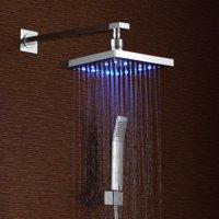 Sumerain International Group Volume Control LED Rainfall Shower Faucet