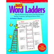 Scholastic Daily Word Ladders, Grades 1 to 2