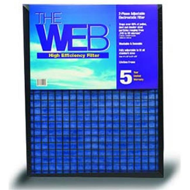 WEB KHBWEB11620 16 x 20 x 1 WEB High Efficiency 1 in. Thick Filter