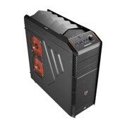 AeroCool PGS B Series XPredator X1 - Black Edition - tower - ATX - no power supply - USB/Audio