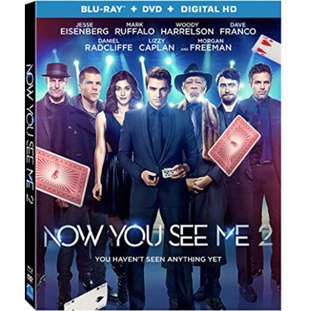 Now You See Me 2  Blu Ray   Dvd