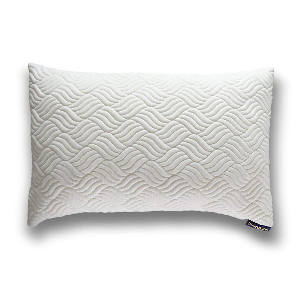 2 Queen Pillow Cases Set Hypoallergenic Shredded Memory Foam Bed Pillow Queen