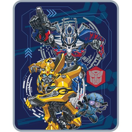 Image of Transformers 5 'Lead The Way' Silky Soft Throw