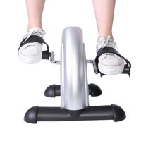 Yosoo Portable Hand Foot Pedal Trainer Exerciser Mini Exercise Bike Bicycle for Gym Indoor, Pedal Exerciser, Mini Pedal Exerciser