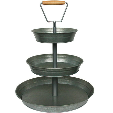 Better Homes And Gardens 3 Tier Galvanized Metal Stand