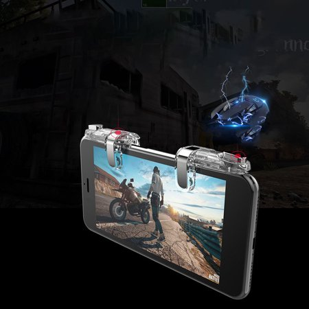 babydream1 4th Generation Mobile Phone Shooting Game Assistive Controller Phone Shooter Trigger Gamepad Convenient Mobilegame Tools - image 7 of 9