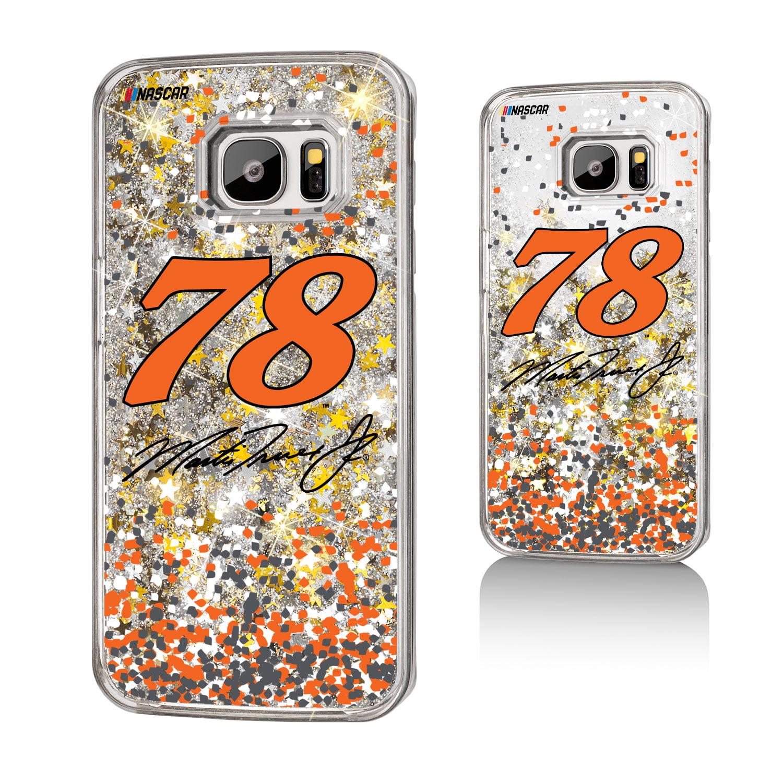 Martin Truex Jr. Confetti Glitter Case for Galaxy S7