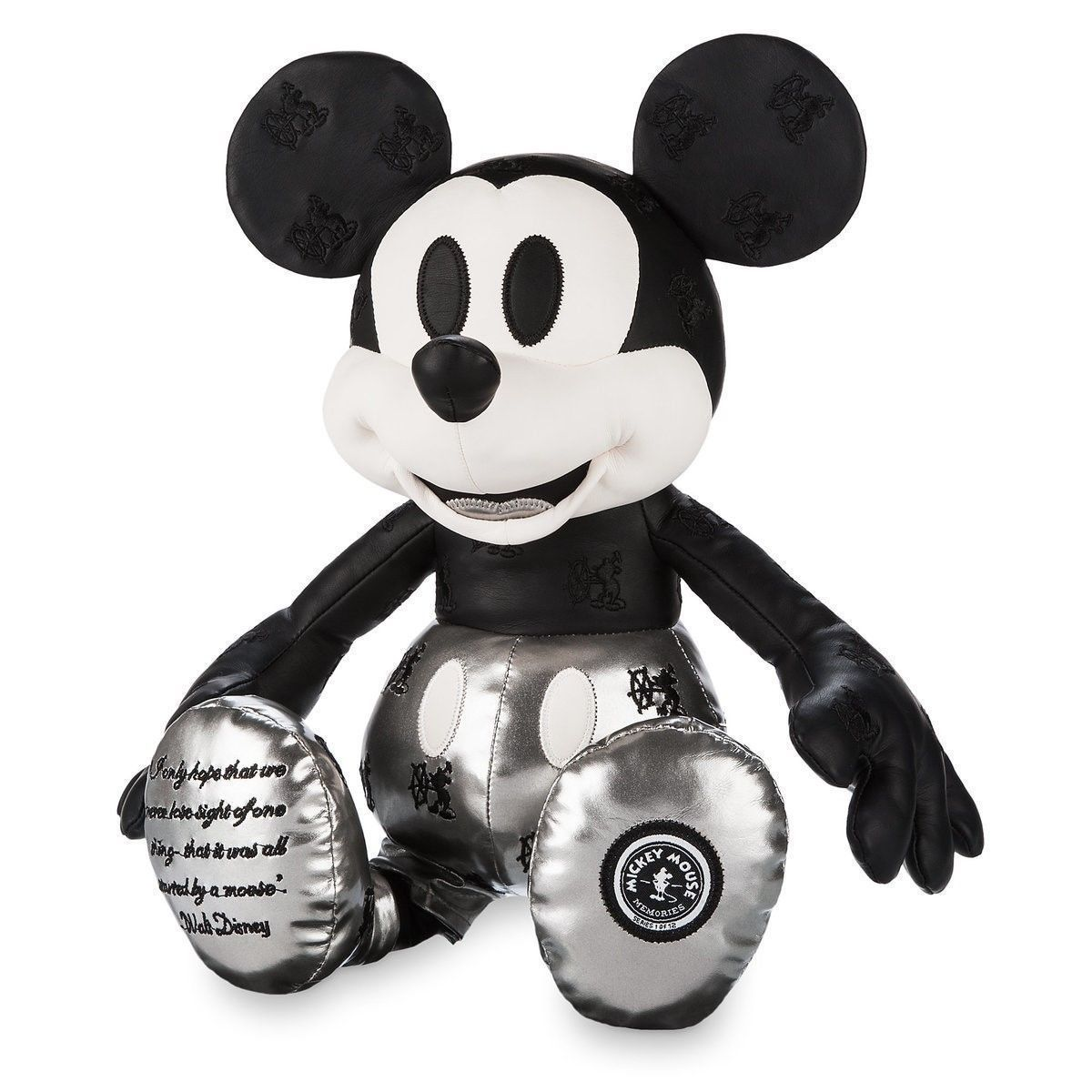 Disney Store Mickey Mouse Memories Steamboat Willie Limited Plush New with Tags