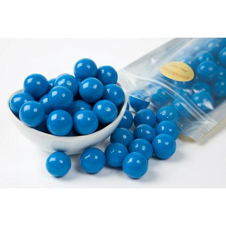Blue Gourmet Gumballs (1 Pound Bag) - Blue Gum Balls