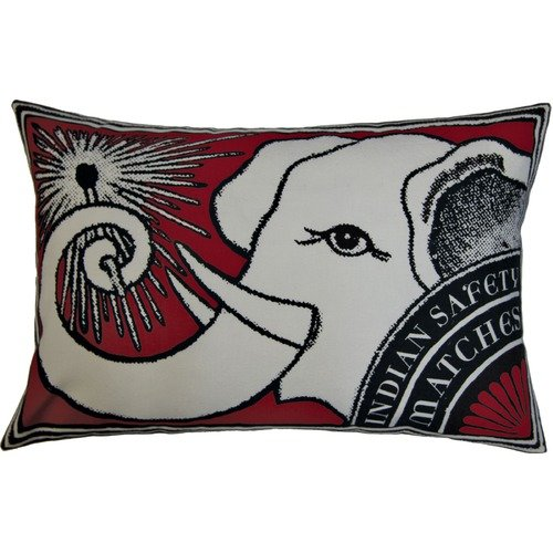 Koko Company Match Elephant Decorative Pillow