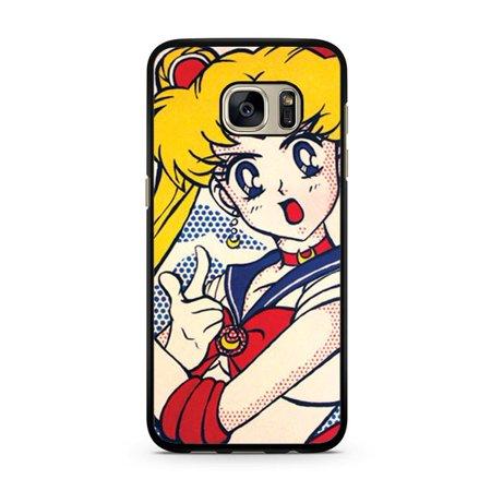 new concept 3b7ee a70da Sailor Moon Galaxy S7 Edge Case