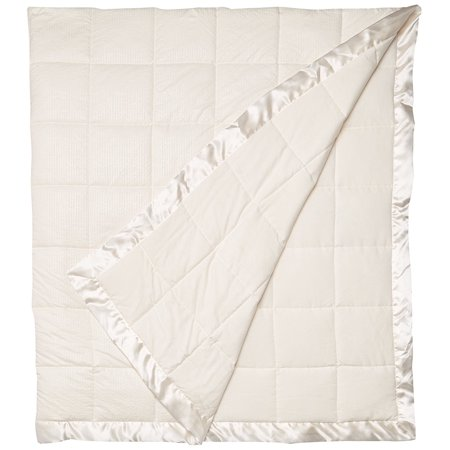 MP51-2598 Cambria Premium Oversized Down Alternative Blanket with 3M Scotchgard Twin Ivory,Twin, Set includes: 1 Blanket By Madison
