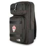 Colorado Rapids New Era Slim Tech Backpack - Heathered Black